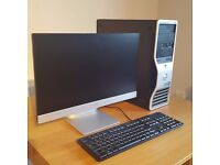 Dell Precision T3500 Intel Xeon Workstation with HP Monitor!! BARGAIN!