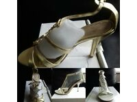 LADIES BRAND SANDALS , NEW,NEVER BEEN WORN N BOXED FOR SALE £10 EACH PAIR .