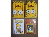 The Simpsons DVD's