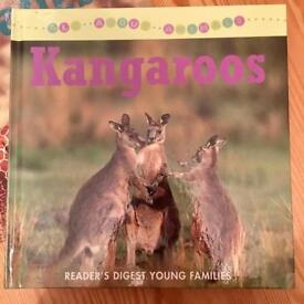 Three hardback books for children on animals