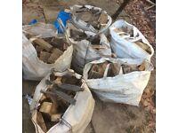 5 bags of soft wood