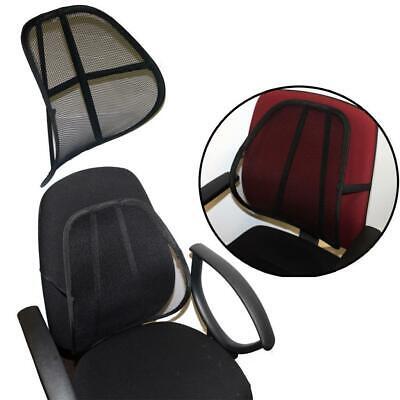 Best Practical Car Seat Chair Massage Back Lumbar Support Mesh Ventilate