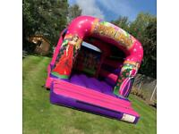 Princess bouncy castle for hire
