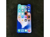 APPLE IPHONE X 64GB SILVER UNLOCKED WITH RECEIPT