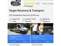 Target Recovery 24hrs service