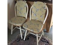 Kitchen chairsx2