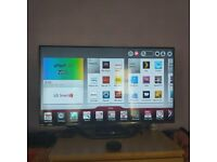 50 inch LG Smart TV as new with 3D facility