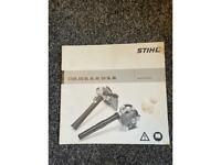 Stihl BG 56,66,86, SH 56,86 instruction manual