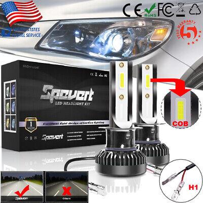 H1 Mini LED Headlight Conversion Kit 110W 26000LM 6000K Car Hi/Lo Beam Bulb Lamp