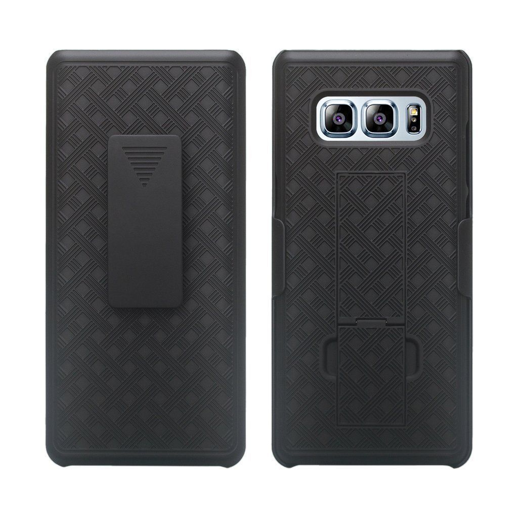 For Samsung Galaxy Note 8 Black Holster Swivel Belt Clip Hard Slim Case Cover