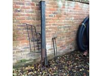 Various iron fencing and gates