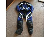 RST motorbike leathers 2 piece