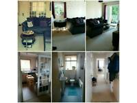 2 bed flat to swap for 3 bed house