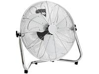 "18"" Chrome 3 Speed Free Standing Gym/Floor Fan"