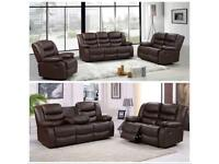WHOLESALE LEATHER RECLINER SOFAS 3/2/1 AVAILABLE BULK ORDERS ONLY