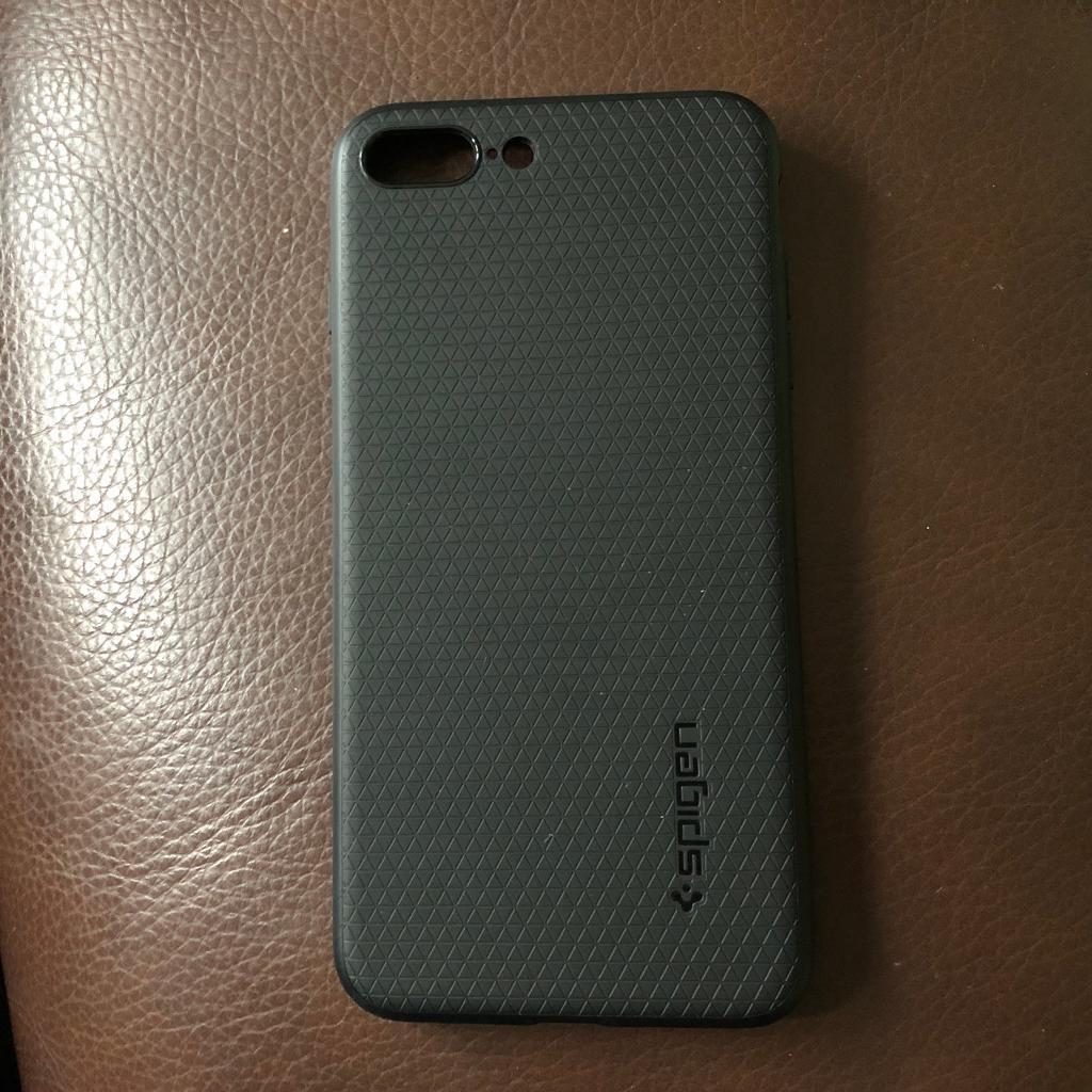 Genuine Spigen Case for iPhone 7/8 Plus Black