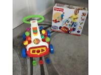 Fisher Price Baby Walker, excellent condition, with box.