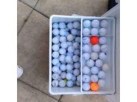 150 Practise/B Grade Golf Balls