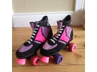 Roller Boots, Retro, UK Size 5-6, £10