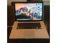Macbook Pro (2 faults selling as spares and repairs)
