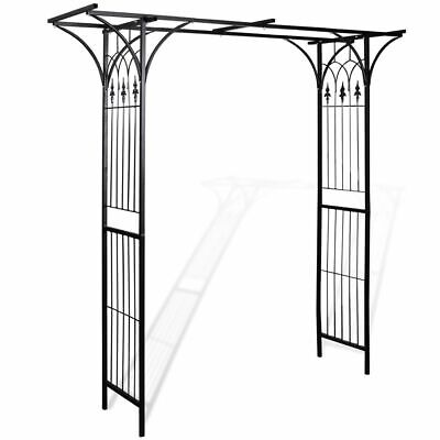 Heavy Duty Metal Iron Garden Arch Archway Plant Roses Support Patio Terrace