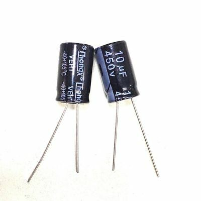 Electrolytic Capacitor Lelon 33uF 350V 85 C Radial NOS Qty 5