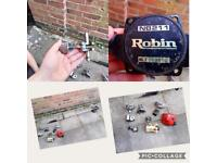 Robin brush cutter