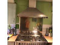 Smeg double oven cooker