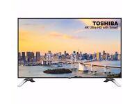 Toshiba 49U6663DB 49 Inch 4K Ultra HD Smart TV NEW WITH 5 YEARS WARRANTY.