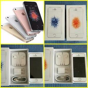 New in Box Apple iPhones 5C(Unlocked)/iPhone SE (Telus/Rogers) and Mint in Box Apple iPhone 5S (Telus/Unlocked)***