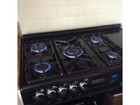 RANGE COOKER DUAL FUEL LEISURE MASTER with GAS HOB and Ceramic induction hob