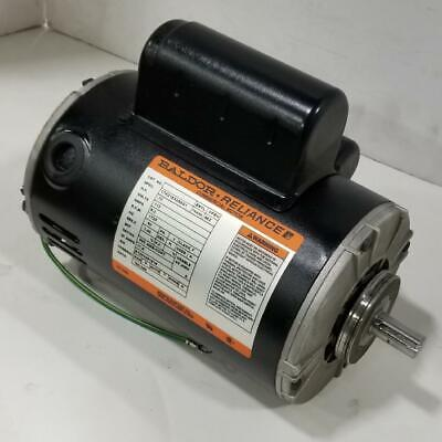 Baldor 0.75 Hp 1800 Rpm Odp 115 Volts 48z Resilient Rings 1 Phase Motor 180-246
