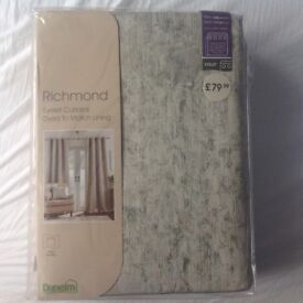 Dunelm curtains - Richmond duck egg