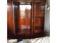 Gorgeous rosewood triple wardrobe , great condition , £75.00
