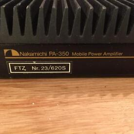 Nakamichi PA 350 mobile pPower Amp