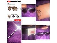 Genuine Alex Rayban sunglasses
