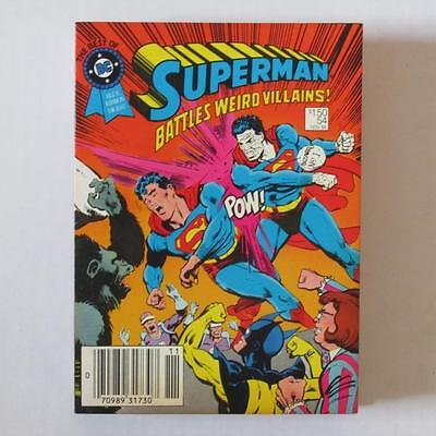 Best of DC Blue Ribbon Digest 54 Superman Battles Weird Villains VF/NM (Best Dc Comics Villains)