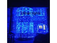 Asian wedding lights hire, Indian house wedding lights, flower wedding lights, outside house lights