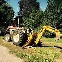 1984 David brown 990 Deisel tractor fr- loader/back 705.696-3403