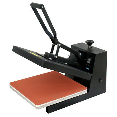 15″x15″DUAL LCD DIGITAL Heat Press Machine For T-shirts HTV Transfer Sublimation Business & Industrial