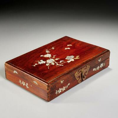 Boxes Inlaid Mother Of Pearl