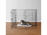 """NEW Large folding pet dog puppy pen with door 42"""" tall"""