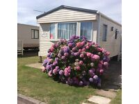 6 BERTH LUXURY CARAVAN - 5* HOBURNE NAISH, NEW MILTON, HAMPSHIRE - NO PETS & NO SMOKING