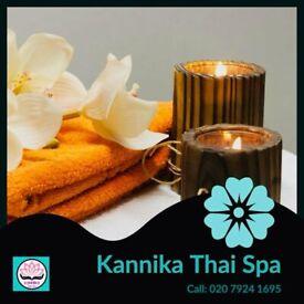 Relaxing Massage in Battersea by Kannika Thai Spa & Beauty