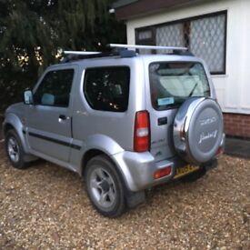 Suzuki Jimny 1.3 JLX 2005 Silver Petrol