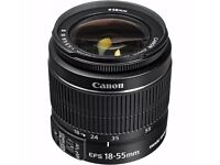 CANON EFS 18-55MM LENS - STORE EX DISPLAY