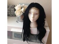 New Lacefront wig 20 in long Brazilian hair.
