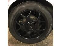 Mini alloy wheels - breaking mini