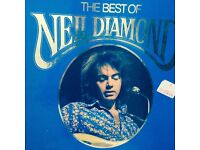 THE BEST OF NEIL DIAMOND VINYL RECORDS - VOLUMES 1,2,3 AND 4