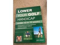 Book-lower your golf handicap under 10 in 10 weeks